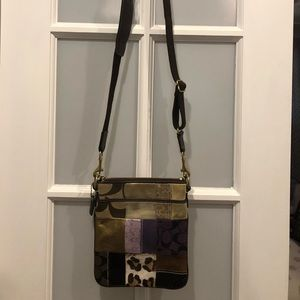 Patch work Coach crossbody
